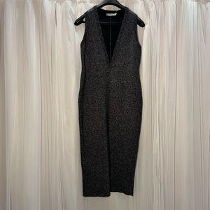 ASOS plunge V Neck Knit Dress